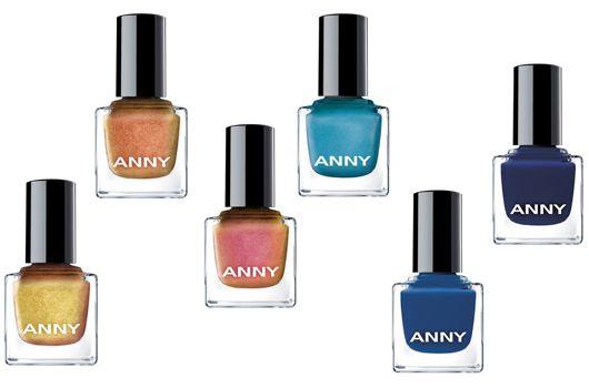 #makeup Sechs neue Trendfarben auf die Nägel mit den ANNY GOLDEN ROLLER GIRLS-Lacken