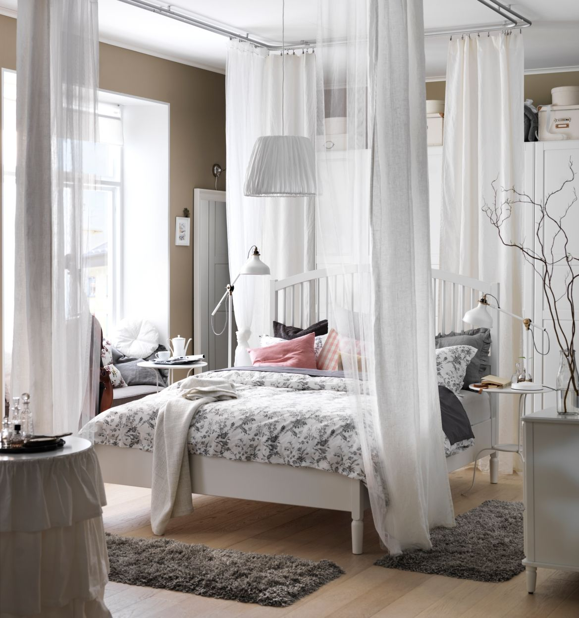 Bed Gordijn Kind Tyssedal Bedframe Wit In 2019 Ikea Catalogus 2016 Bedroom