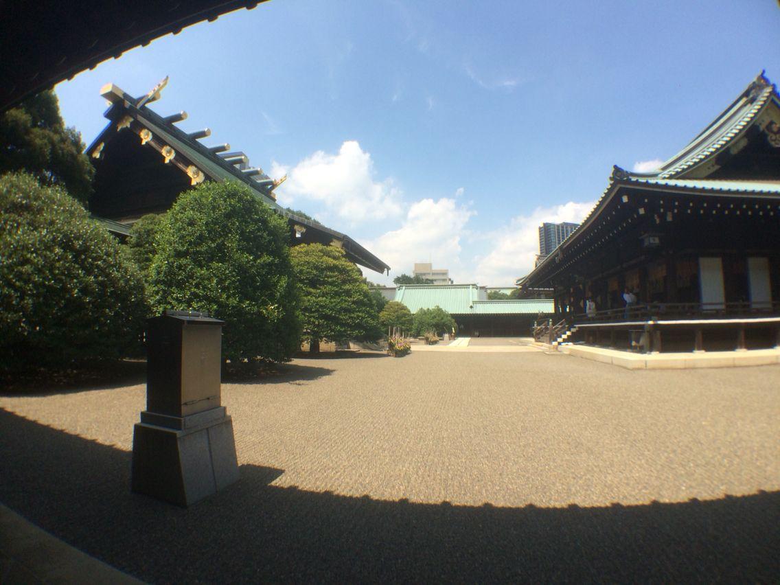 靖国神社 終戦70周年参拝