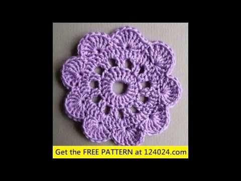 crochet coaster for beginners - http://www.knittingstory.eu/crochet-coaster-for-beginners/