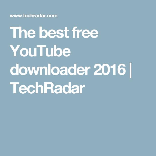 best youtube downloader 2020