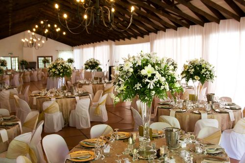 Gold And Ivory Wedding Theme