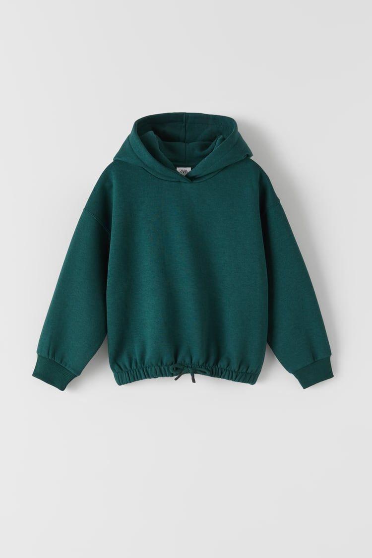 Plain Hooded Sweatshirt Zara United States Sweatshirts Plain Hoodies Girl Sweatshirts