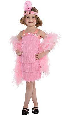 Fun World Costumes Baby Girls Flapper Toddler Costume