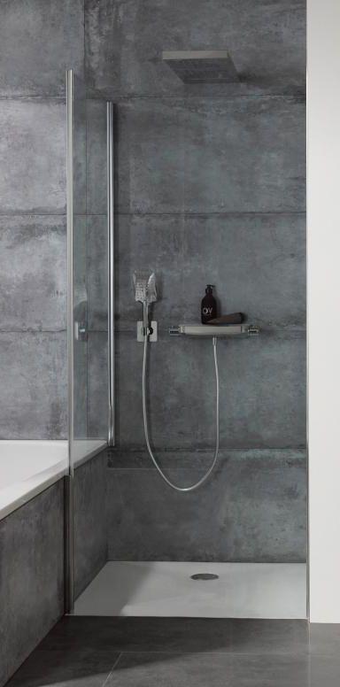 HSK Aperto Die Duschkabine sich durch eine