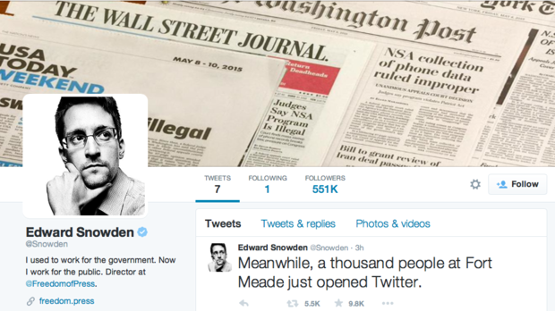 snowden now on twitter follows only the nsa edward on wall street today id=32441