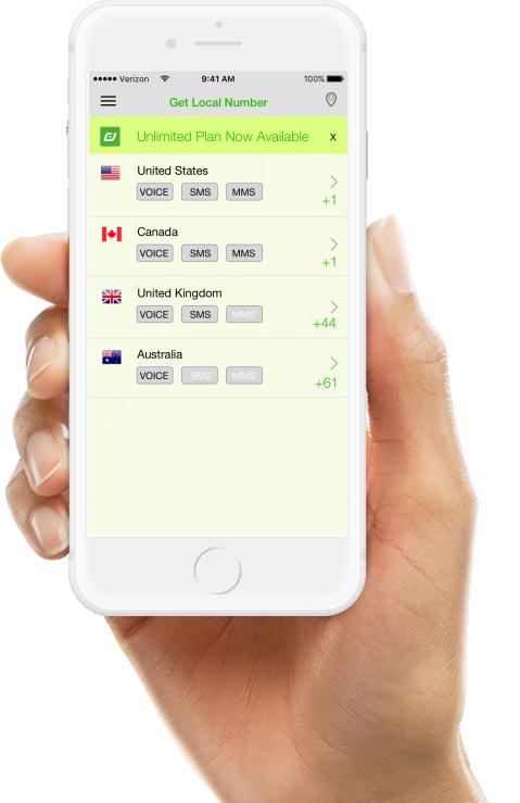 Download Dollar Digits Second phone number app on smart