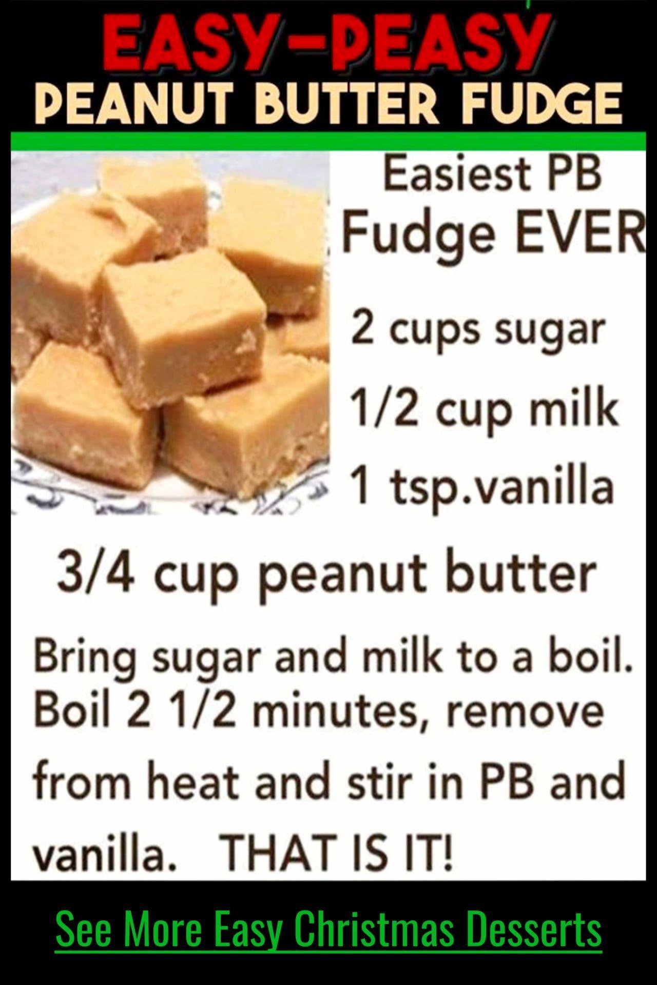 Easy Fudge Recipe Without Condensed Milk Quick And Simple Peanut Butter In 2020 Peanut Butter Fudge Recipes Easy Easy Fudge Recipe Without Condensed Milk Fudge Easy