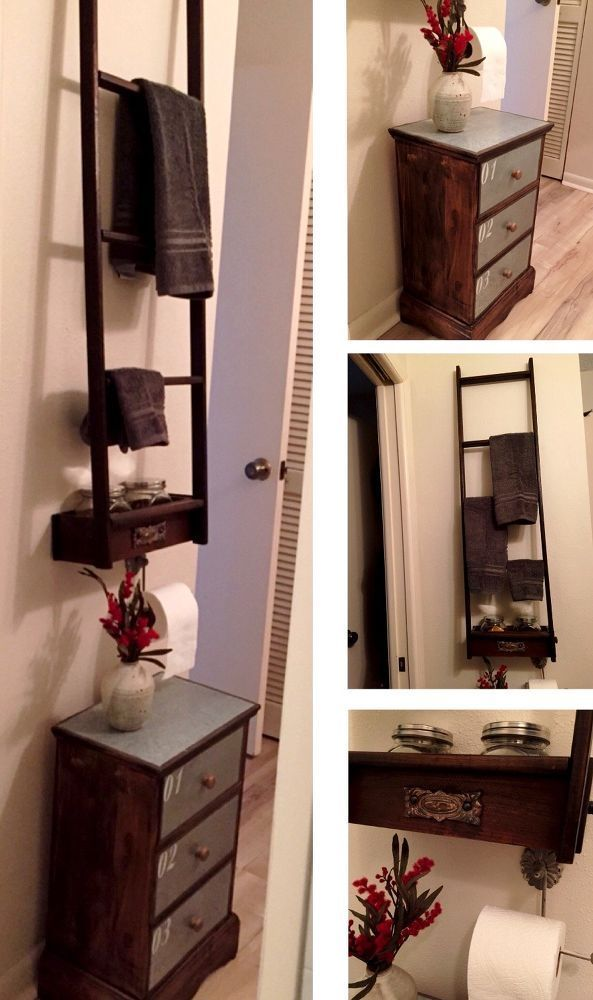 Limited Bathroom Space to Maximum Storage # ...