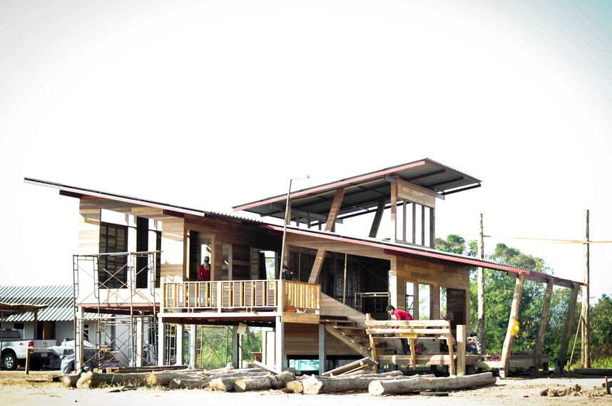 modern-thai-oldschool-wooden-house (1) | architecture | Pinterest ...