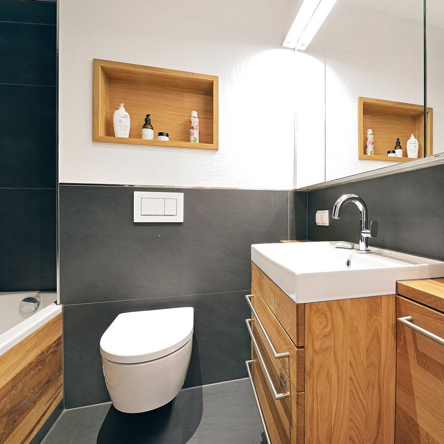 3 3 Qm Bad Einbaumobel Badezimmer Bad