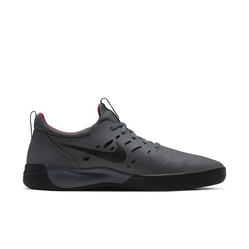 Nike Sb Nyjah Free Skate Shoe Grey Skate Shoes Shoes Nike Sb