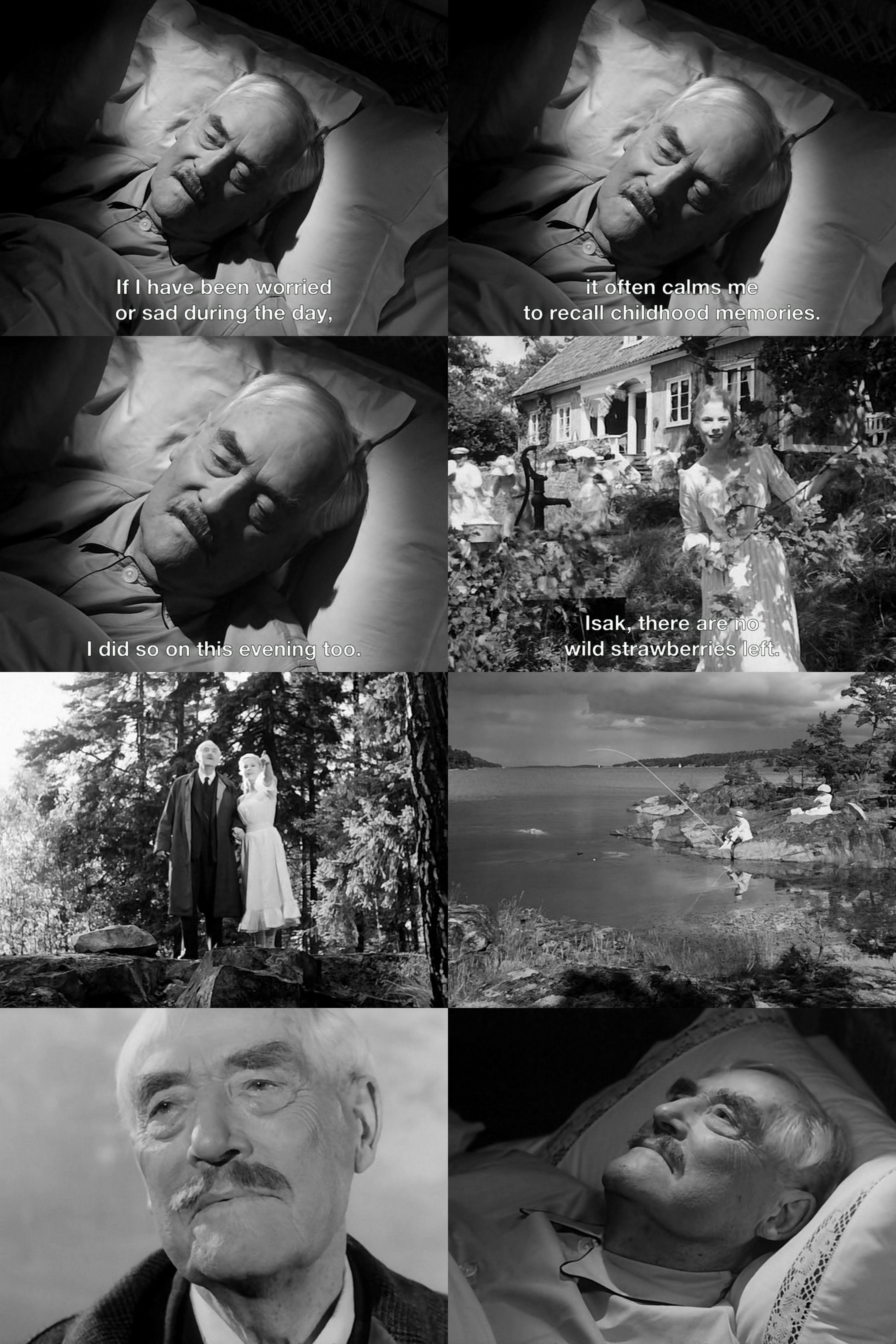 Wild Strawberries Ingmar Bergman Bergman film, Ingmar
