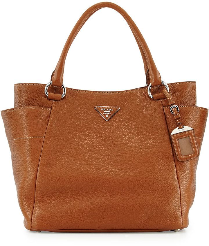 d1ae700103 Prada Daino Side-Pocket Tote Bag