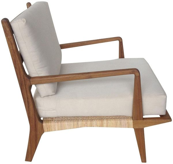 Allister Chair with Rattan and Teak | Sillas, Hogar y Decoración