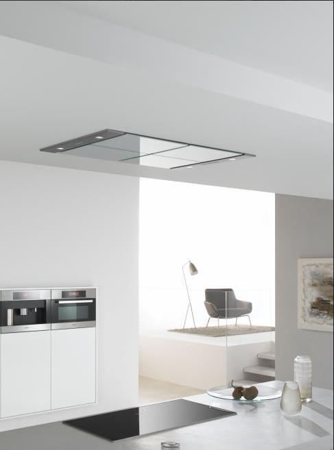 Afzuigkap in verlaagd plafond keuken idee n pinterest kitchens future and interiors - Design keuken plafond ...