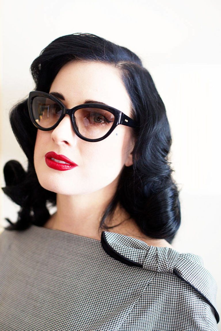 Beauty Tellall A Visit With Dita Von Teese Beauty