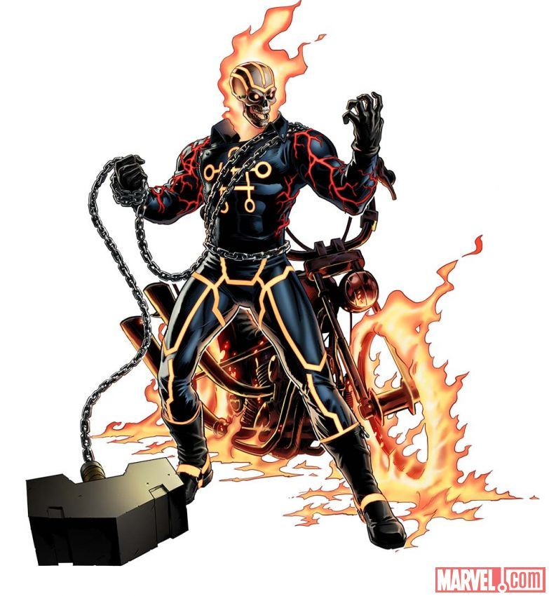 Ghost Rider as Greithhoth  #Marvel: Avengers Alliance