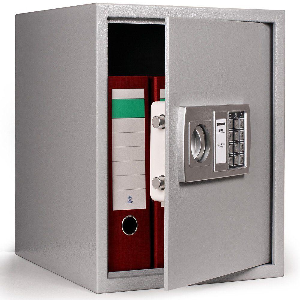 Safe Large 56l Digital Electronic High Security Steel Safe For Home Vault Safe Box 35x40x40cm Locker Storage Office Furniture Set Digital Safe
