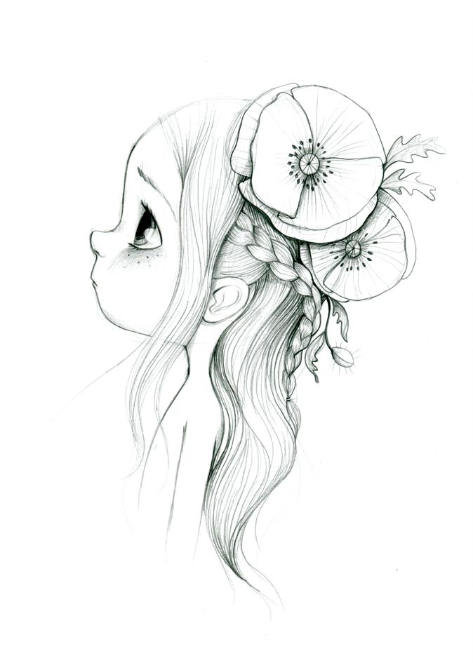 fabiana dessin petite fillejolie - Dessin De Petite Fille