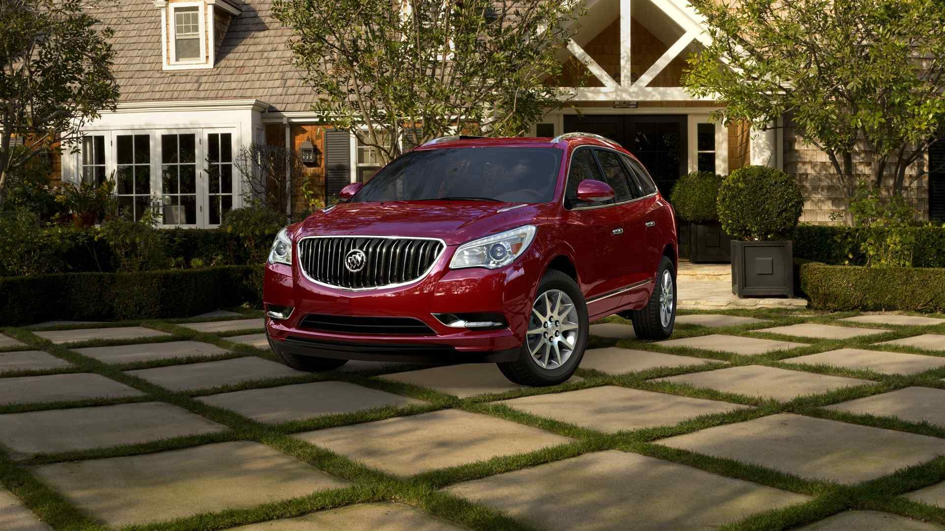 2014 Buick Enclave Crystal Red Tintcoat Luxury Crossovers Buick