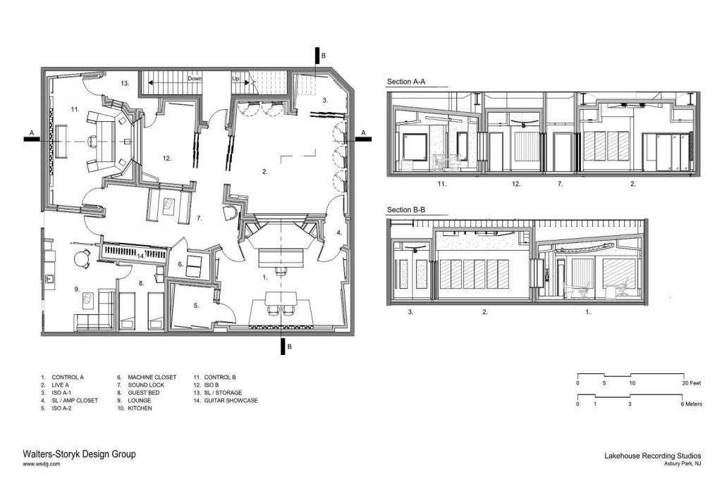 Lakehouse Recording Studios in 2020 Studio floor plans