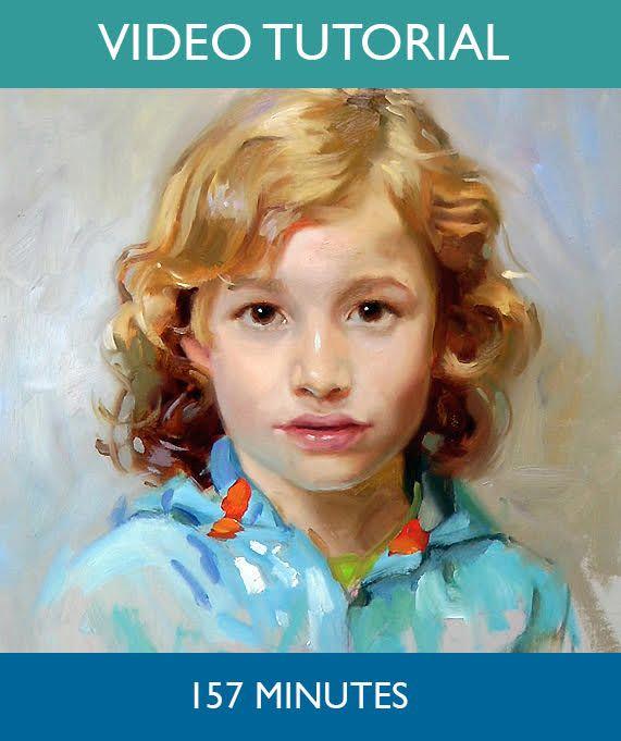 Portrait Painting Demonstration Painting Portrait Tips Ideas