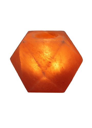 Himalayan Salt Lamp Near Me Prepossessing Himalayan Salt Crystal Lamps Diamond Shape Tea Light Healthy Life Decorating Inspiration
