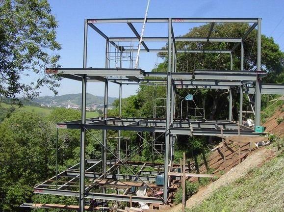 Casa 114 M2 3 Qtos Pre Fabricada Kit Estrutura Em Aco