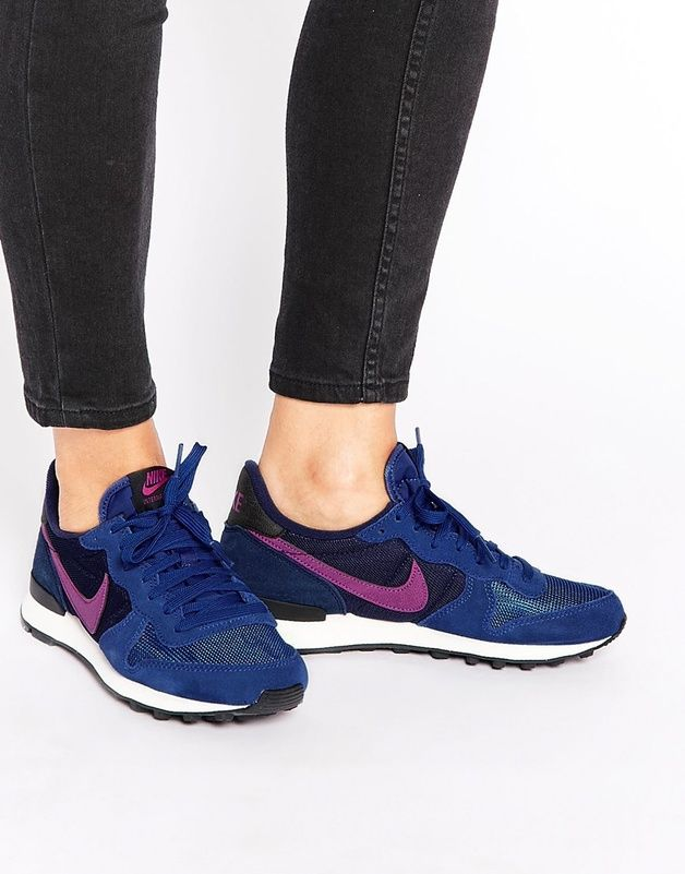 18c382068b8d Nike - Internationalist - Baskets - Bleu et rose shoping tenuedujour  lookdujour mode femme ete achat fashion mignon jolie tendance ootd luxe  chaussures ...