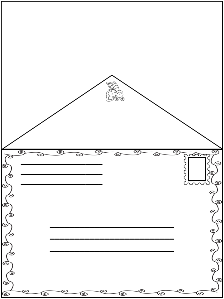 Cute And Free Letter Template For ValentineS Day In Kindergarten