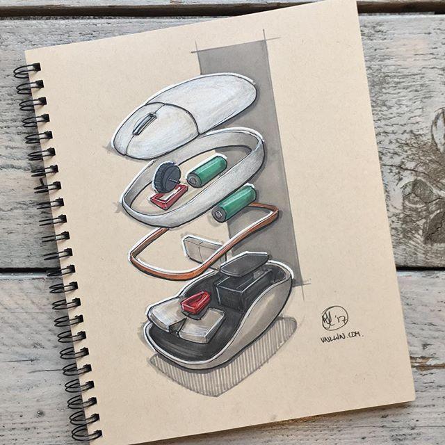Computer Mouse Diagram