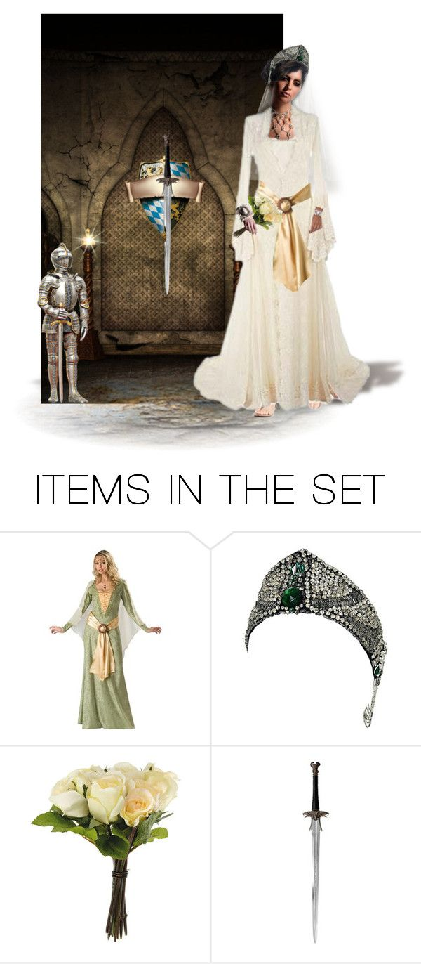 """""""Medieval Bride"""" by chileez ❤ liked on Polyvore featuring art"""