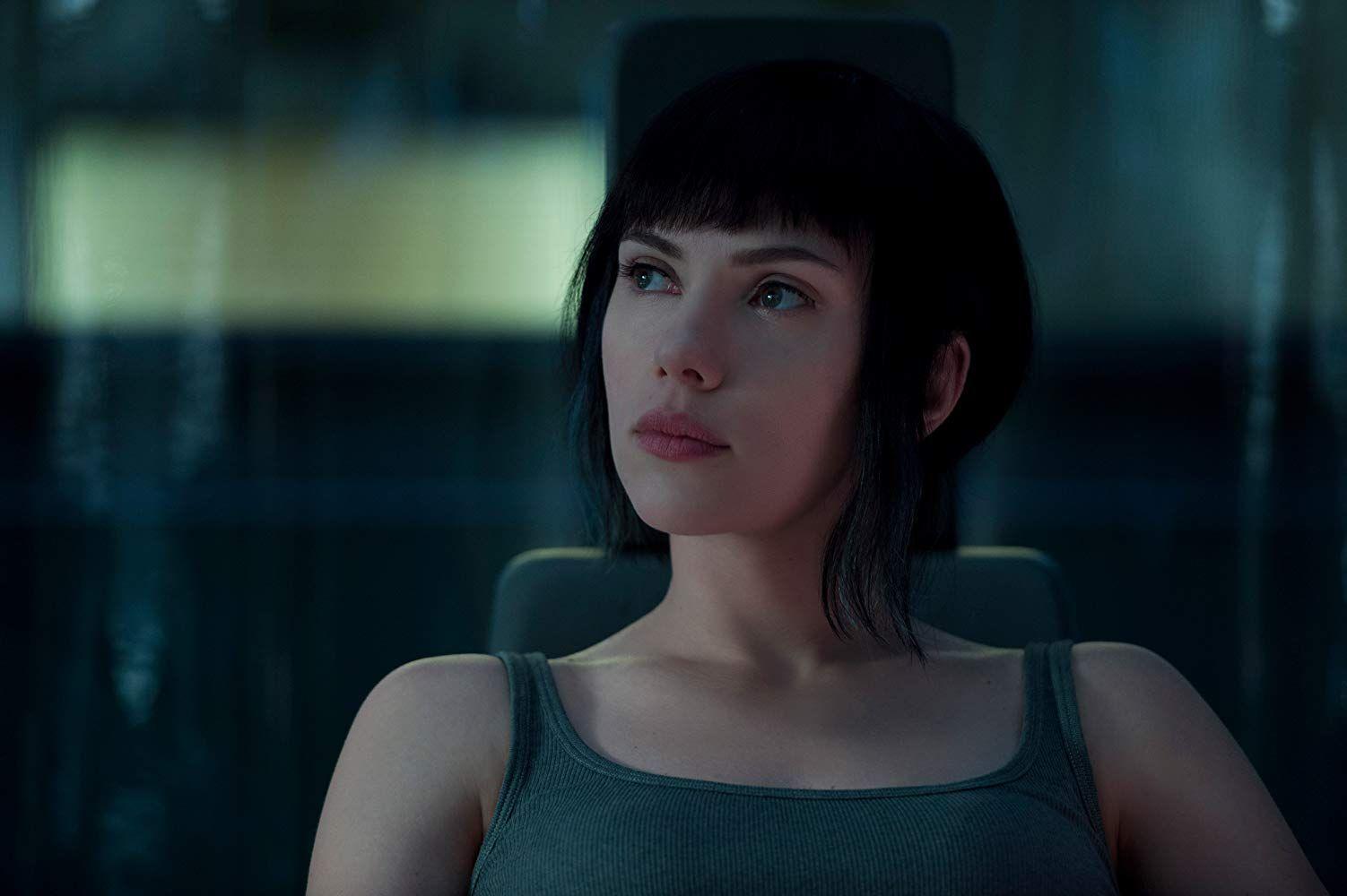 Scarlett Johansson In Ghost In The Shell 2017 Scarlett Johansson Ghost Scarlett Johansson Ghost In The Shell