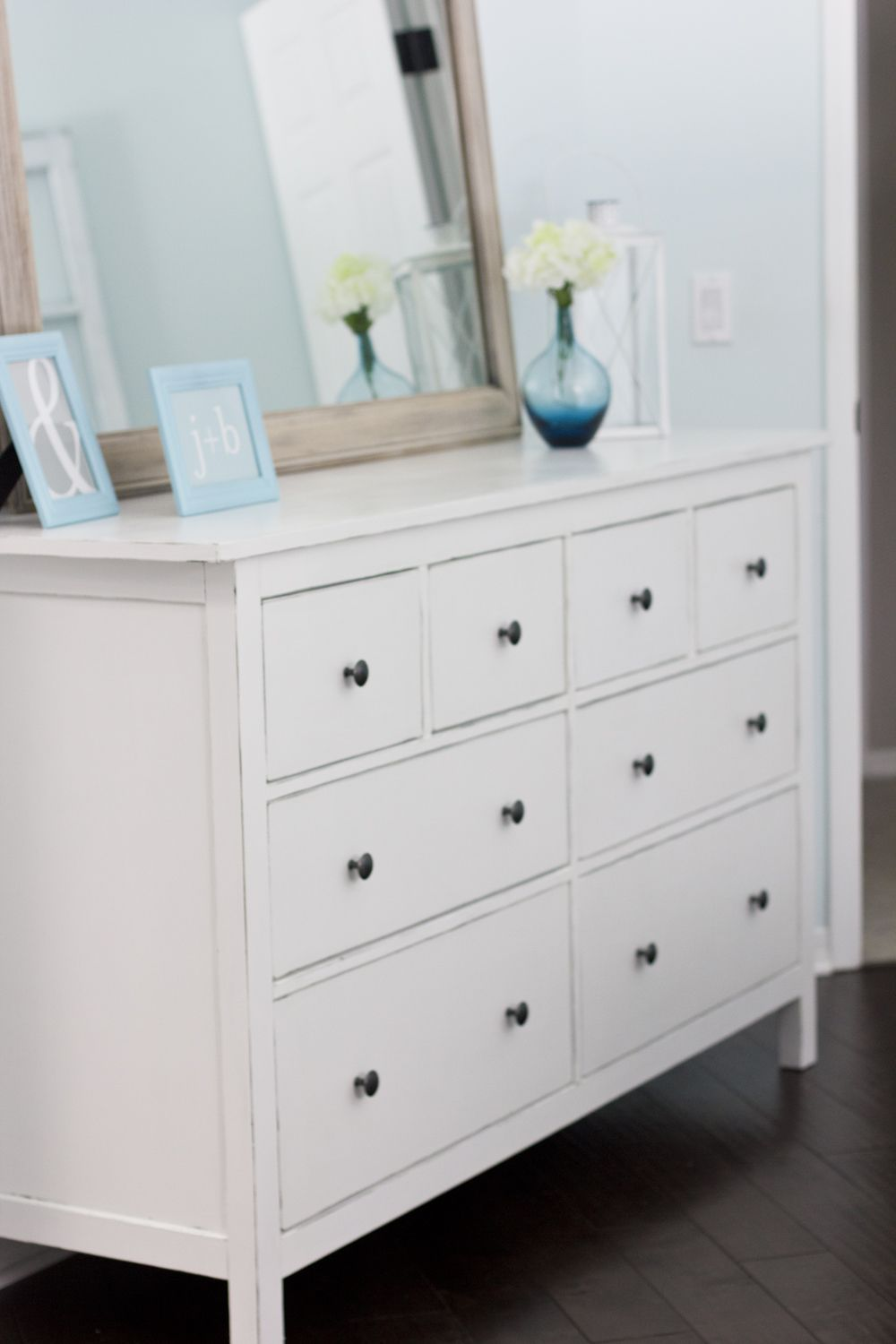 jenna sue ikea hemnes dresser hack a pinterest challenge project how to paint a brown. Black Bedroom Furniture Sets. Home Design Ideas