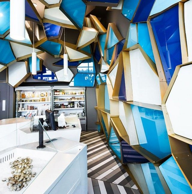 Interior Design Office Montreal: Visual Fishmonger Interior Design In Montreal