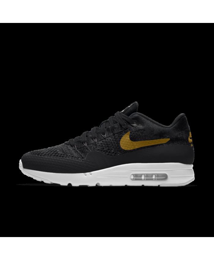 reduced yellow black mens nike air max 1 ultra shoes a77ae 7e5d4