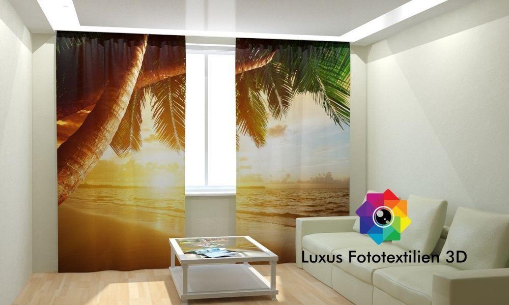 Details zu Fotogardinen 3D  - gardinen und vorhänge für wohnzimmer