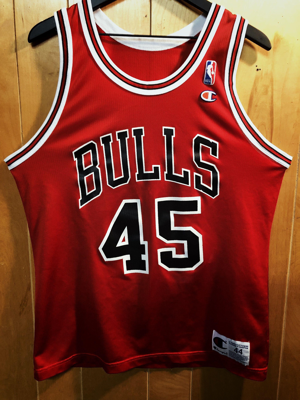 Chicago bulls michael jordan 45 champion jersey