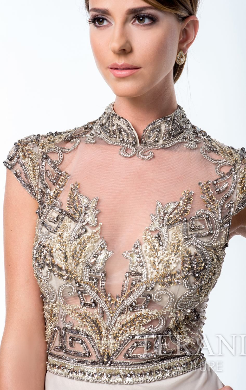 Terani 151M0352 by Terani Couture Evening | Details Embroidered ...
