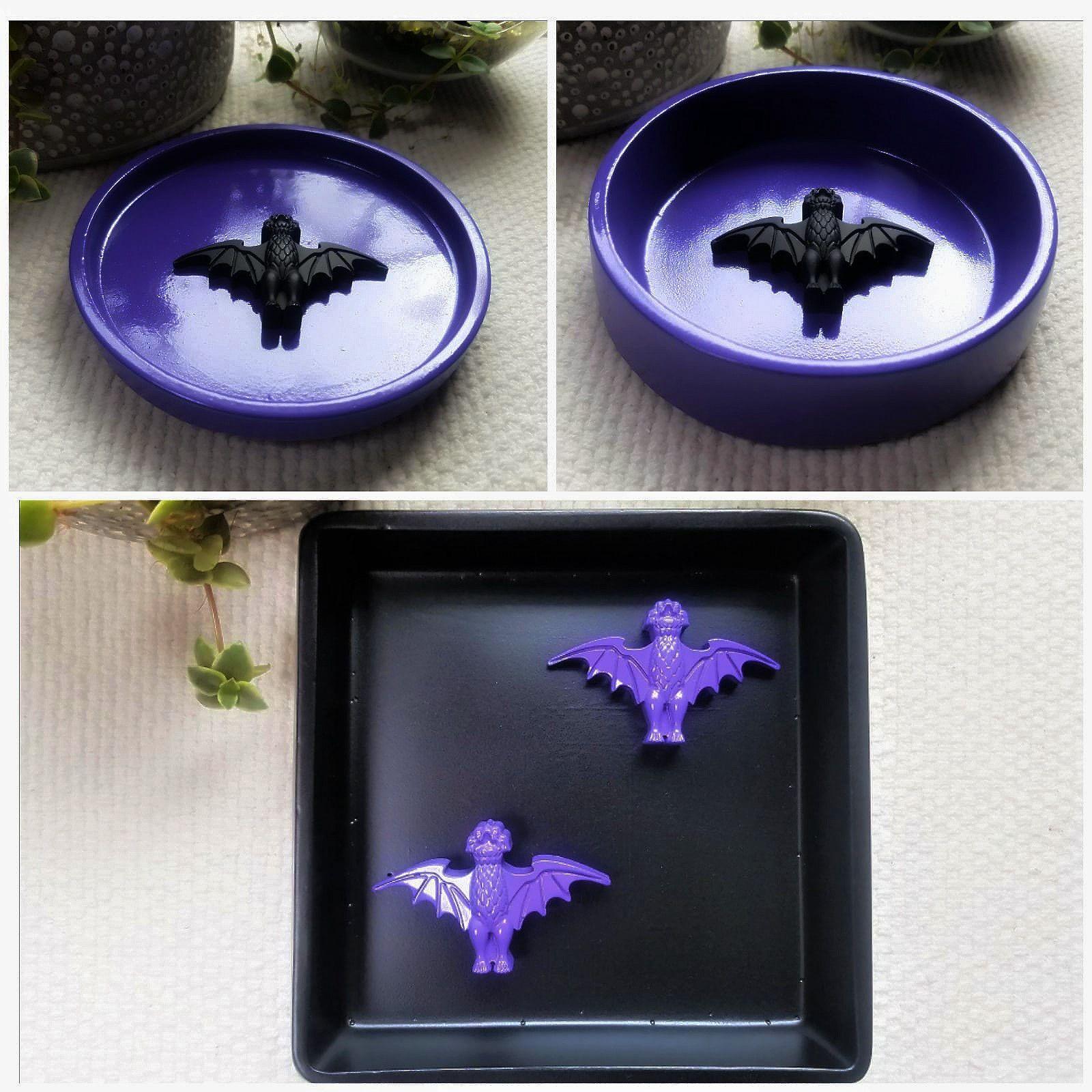 Disneyland Haunted Mansion Inspired Dish Disney themed engagement dish Ring Dish Bat Dish Haunted mansion wedding gift
