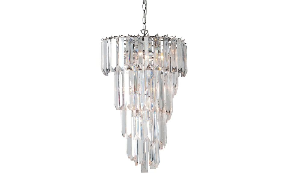 Helena Spiral Ceiling Chandelier At Laura Ashley Deco