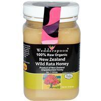 Wedderspoon Organic, Inc., 100% Raw Organic, New Zealand Wild Rata Honey, 17.6 oz -  $14.90