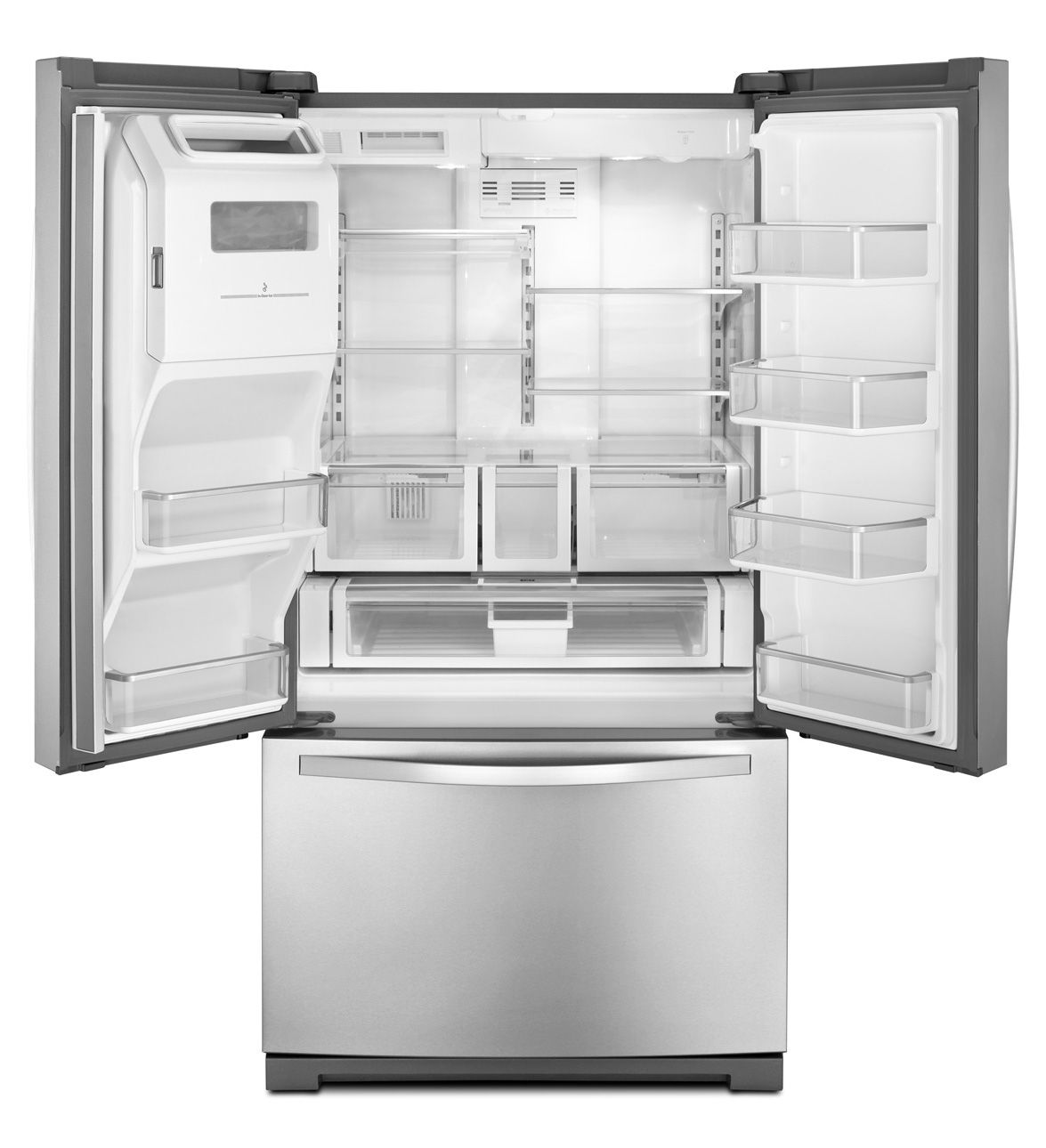 Whirlpool white ice french door - Whirlpool White Ice Collection French Door Refrigerator With Flexible Capacity