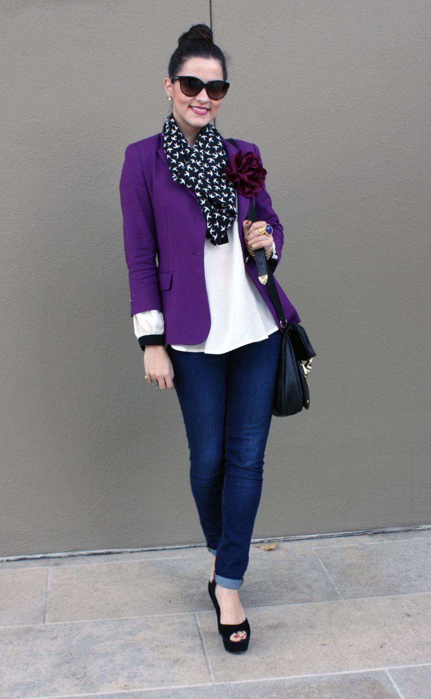 Purple Blazer...want! | Dress Me Up | Pinterest | Purple blazers ...