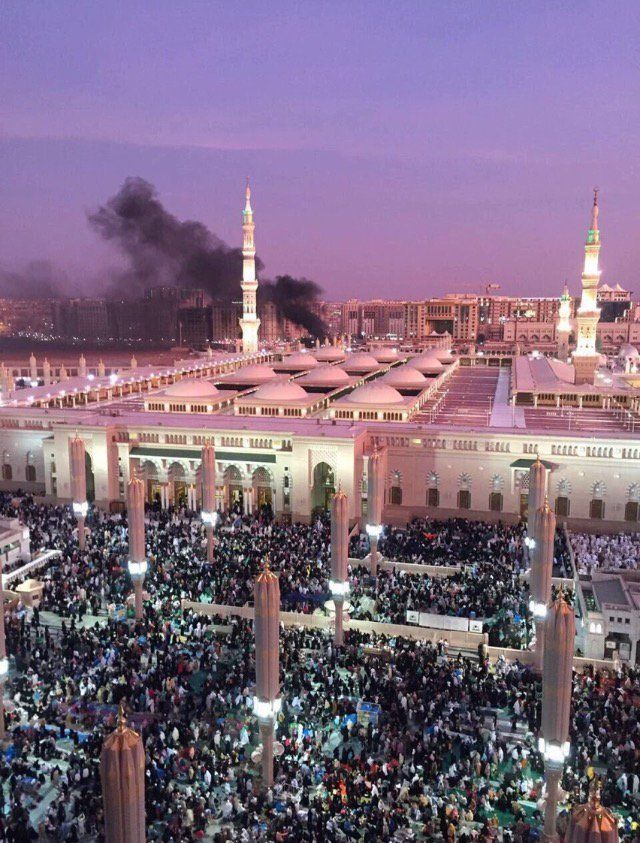 The Medina Bombing Medina Saudi Arabia Mosque