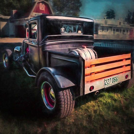 Rat Rod Trucks #Ratrodtrucks