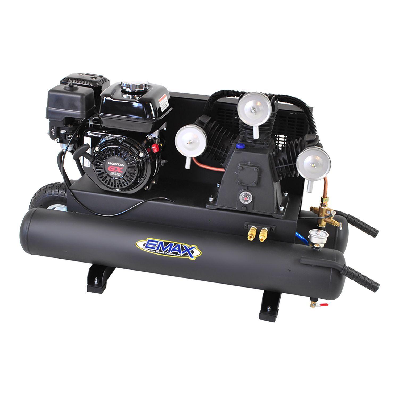 EMAX 10gallon 6.5 HP 3Cycle Portable Gas Wheelbarrow Air
