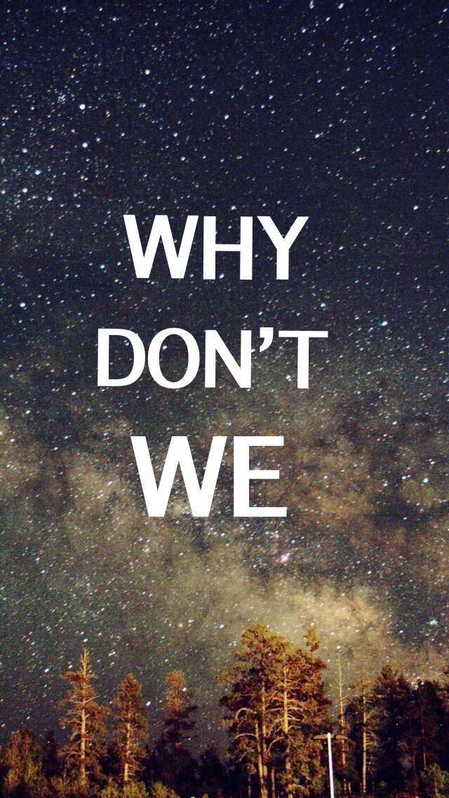 WDW wallpaper, photo via Pinterest | Why Don't We | Boys wallpaper, Why dont we band, Why dont ...