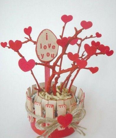Handmade Valentines day gift photos.